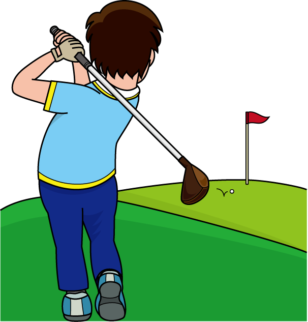 「ゴルフ イラスト 無料」の画像検索結果
